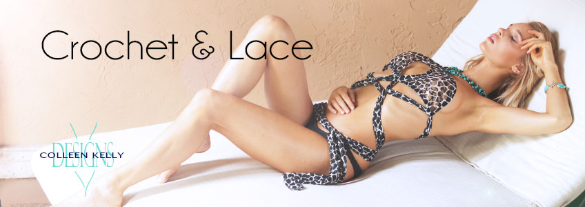 Colleen Kelly Designs Swimwear Collection - Crochet & Lace