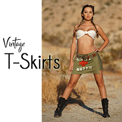 Shop the NEW Custom Vintage T-Skirt Collection!