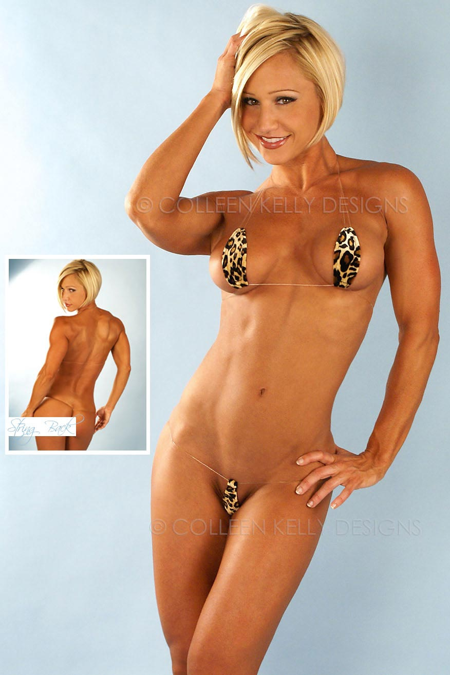 Colleen Kelly Designs Swimwear Style #1428 Image of Jungle Magikini