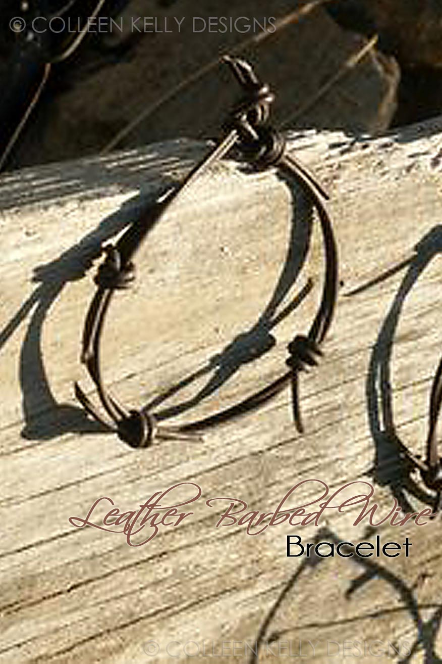 Colleen Kelly Designs Swimwear Style #1933 Image of Barbed Wire Bracelet