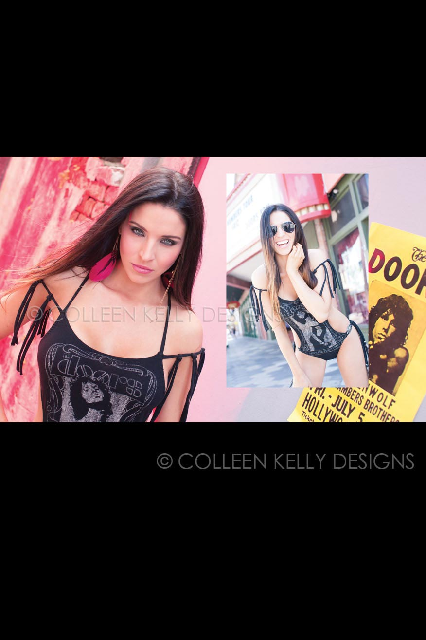Colleen Kelly Designs Swimwear Style #200 Image of Doors -