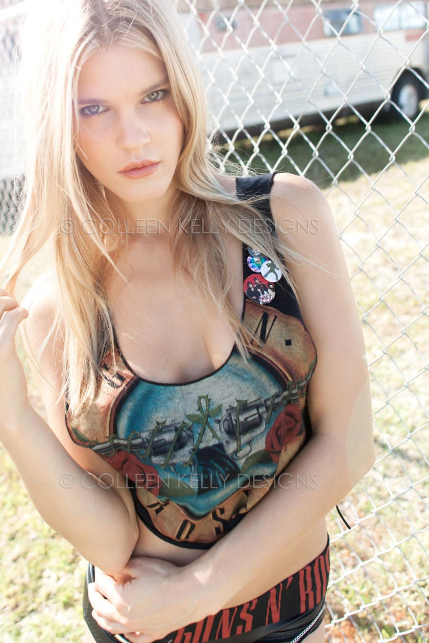 Colleen Kelly Designs Swimwear Style #202 Image of Guns 'N Roses -