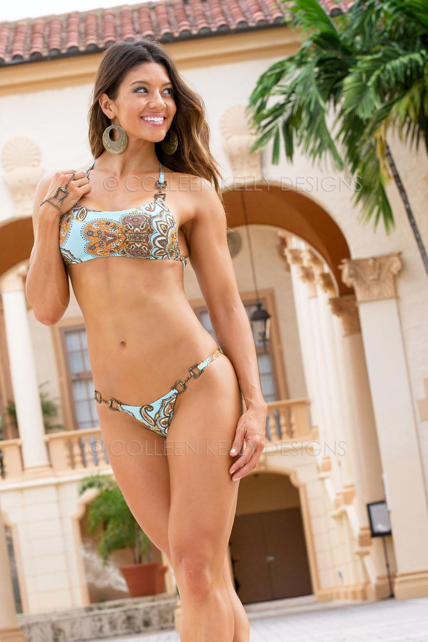 Colleen Kelly Designs Swimwear Style #2032 Image of Venetian Hand Piece