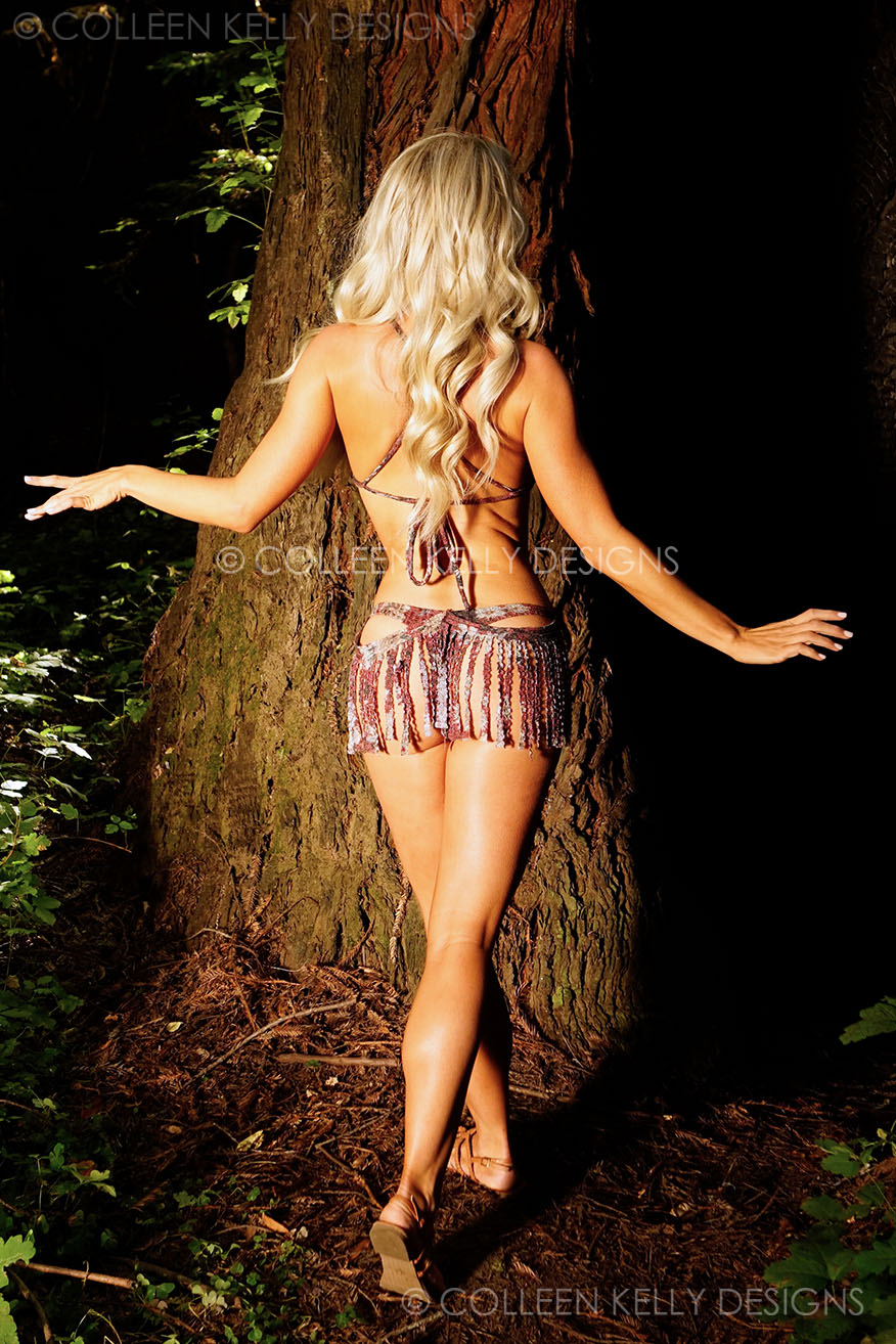 Colleen Kelly Designs Swimwear Style #2714 Image of Shaggy Stoney Swag Suit