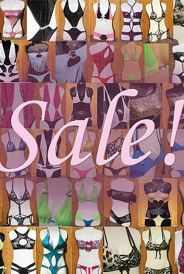 Colleen Kelly Designs Swimwear Style #10 Image of 3 Grab Bag Sale-on-Sale Swimsuits