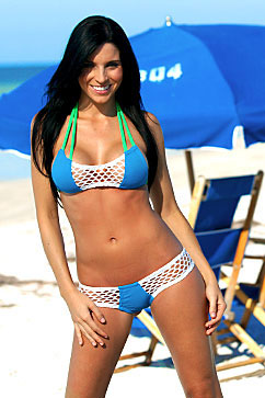 Colleen Kelly Designs Swimwear Image: Sport Net Bandeaukini 2-Piece