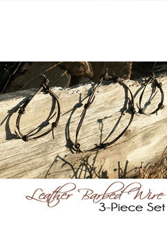 Colleen Kelly Designs Swimwear Image: Barbed Wire Jewelry 3-Pc Set