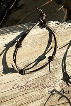 Colleen Kelly Designs Swimwear Image: Barbed Wire Bracelet