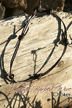 Colleen Kelly Designs Swimwear Image: Barbed Wire Choker