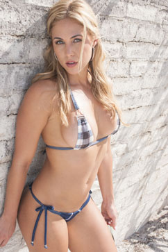 Colleen Kelly Designs Swimwear Image: Denim Microkini
