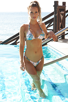 Colleen Kelly Designs Swimwear Image: Shell Chips Bikini