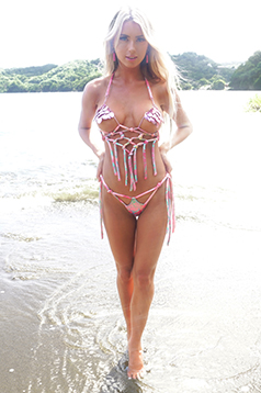 Colleen Kelly Designs Swimwear Image: Metal Mermaid Dream Catcher