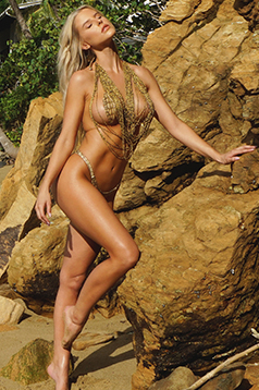 Colleen Kelly Designs Swimwear Image: Seaweed Beads Floaty-Kini