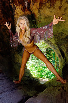 Colleen Kelly Designs Swimwear Image: Shaggy Agate Shrug-Kini