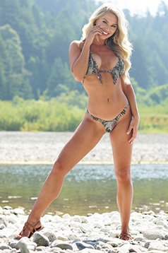 Colleen Kelly Designs Swimwear Image: Shaggy Stoney Microkini