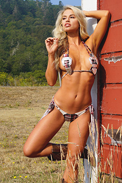Colleen Kelly Designs Swimwear Image: Big Buckle Top 2 Piece