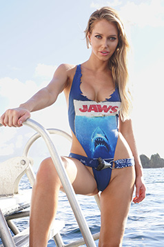 Colleen Kelly Designs Swimwear Image: Vintage JAWS Tank
