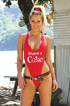 Colleen Kelly Designs Swimwear Image: Share a Coke Tank