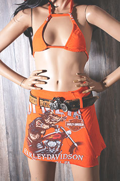 Colleen Kelly Designs Swimwear Image: Hot Metal Biker<br>Shift Happens