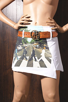 Colleen Kelly Designs Swimwear Image: Beatles<br>Make Peace Not War