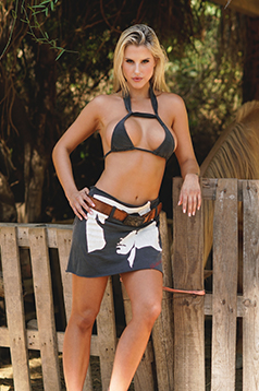 Colleen Kelly Designs Swimwear Image: Marlboro Man T-Skirt