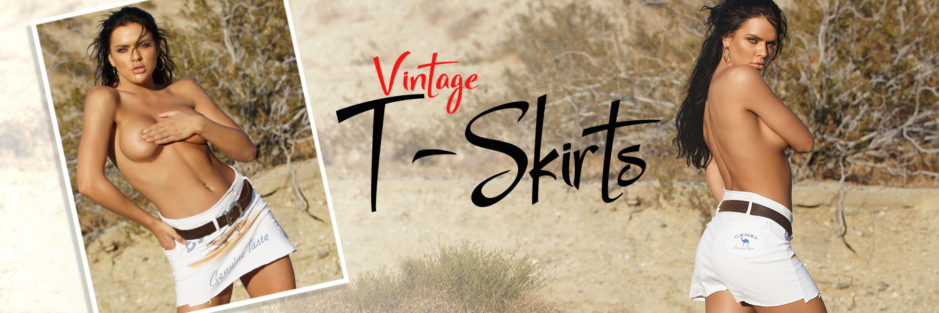 Colleen Kelly Designs / NEW Custom Vintage T-Skirt Collection