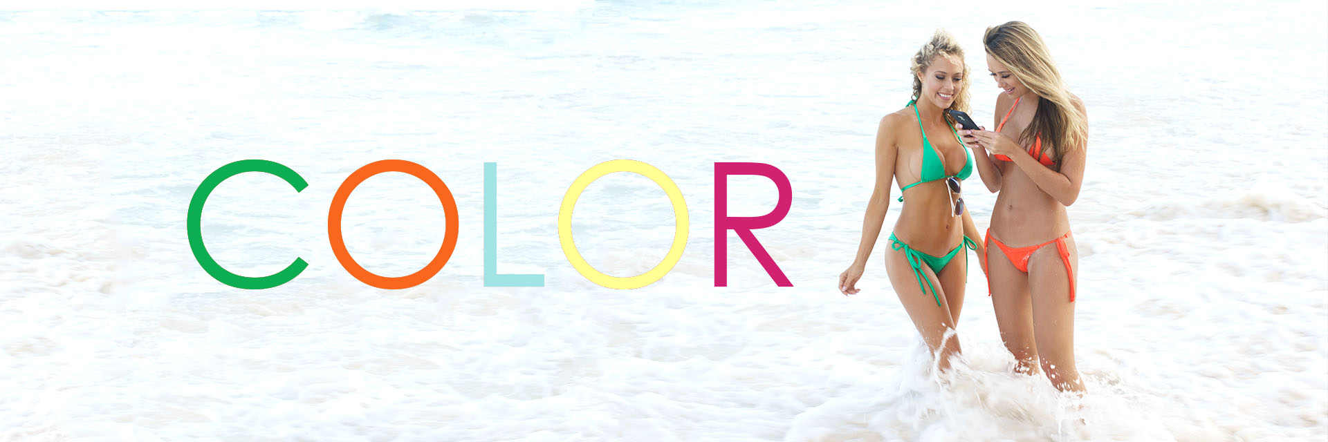Colleen Kelly Designs / Full Color Standard Bikini & Microkini