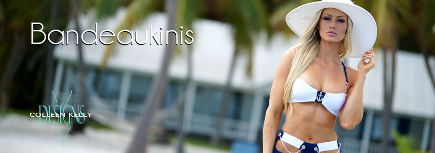 Colleen Kelly Designs Swimwear Collection - Bandeaukinis