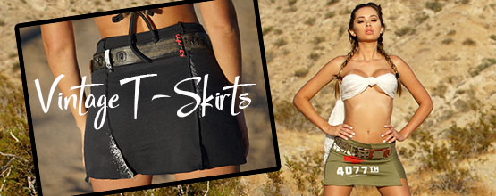 Colleen Kelly Designs / Custom Vintage T-Skirts